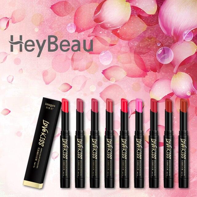 Professional Makeup 8 Colors Matte Lipsticks Long Lasting Lip Stick Make Up Pink Velvet Pencil
