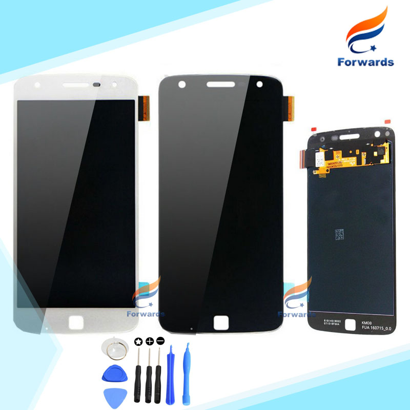 все цены на  Replacement Parts for Motorola MOTO Z Play Droid XT1635 LCD Screen Display with Touch Digitizer Assembly 1 piece free shipping  онлайн