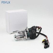 цена на FSYLX 55W bi xenon H4 HID Xenon Headlight Bulbs H4 high low beam Car Lamps 55W 4300K 6000K 8000K 10000K bixenon lights