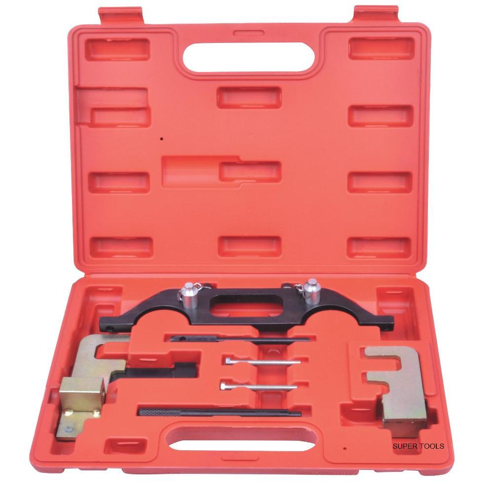 Automotive Engine Timing Camshaft Locking Tool Kit For RENAULT Espace 2.2 Master 2.2 / 2.5 DCI AT2138 цена