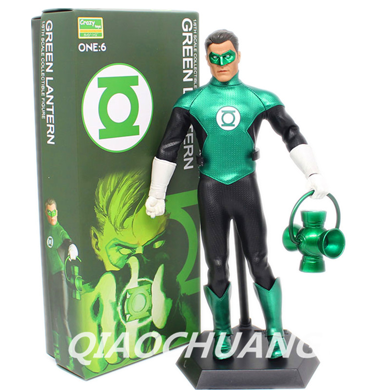 Crazy Toys Green Lantern Corps Green Lantern Hal Jordan 1/6 th Scale PVC Action Figure Collectible Model Toy 12inch Boxed W38 new membrane keypad for biocare ecg 300g repair
