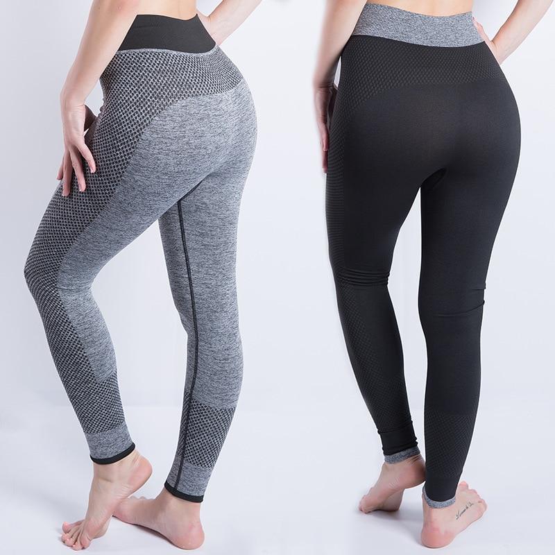 yoga pants seamless/gym/sport/yoga leggings sport women fitness gym shark femme push up Nine