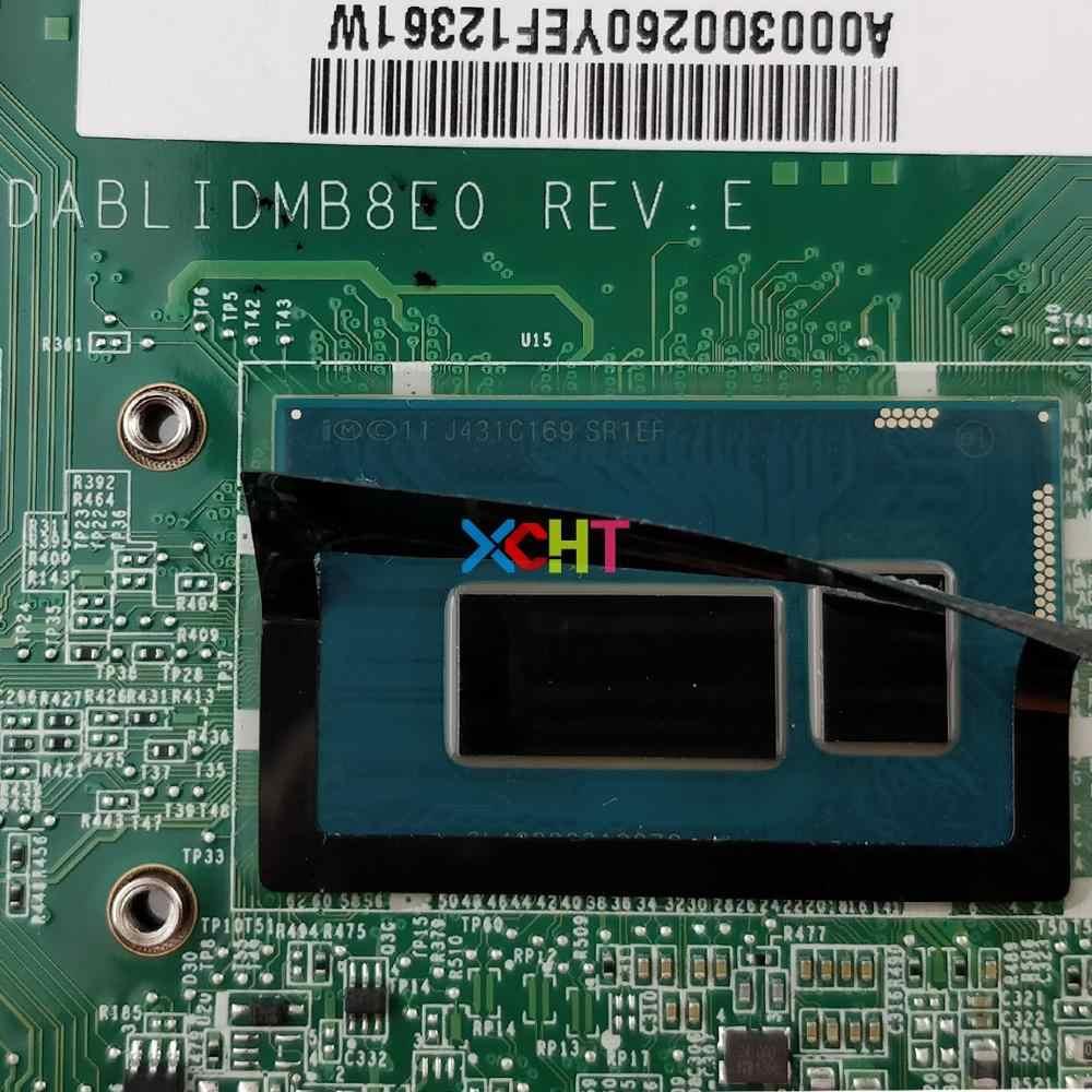A000300260 DABLIDMB8E0 w I5-4210U CPU 216-0858020 GPU لتوشيبا L50-B الكمبيوتر الدفتري المحمول اللوحة اللوحة