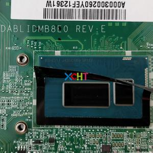 Image 4 - A000300260 DABLIDMB8E0 w I5 4210U CPU 216 0858020 GPU for Toshiba Satellite L50 B Notebook PC Laptop Motherboard Mainboard