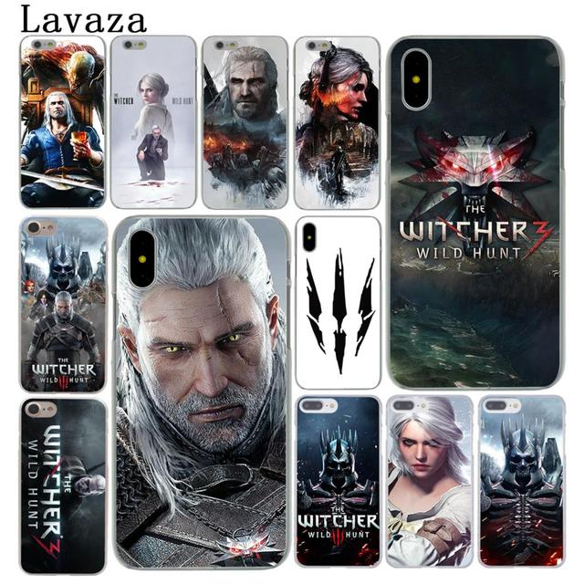 178236b2ac66 Lavaza The Witcher 3 Wild Hunt Hard Cover Case for Apple iPhone X XS Max XR  6 6S 7 8 Plus 5 5S SE 5C 4S 10 Phone Cases 8Plus