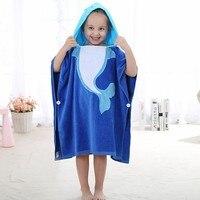 Sevimli Hayvan Şekil Bebek Kapşonlu Bornoz Banyo Havlu Polar Battaniye Alma Yenidoğan Tutun Olmak Çocuk Çocuk Bebek Banyo