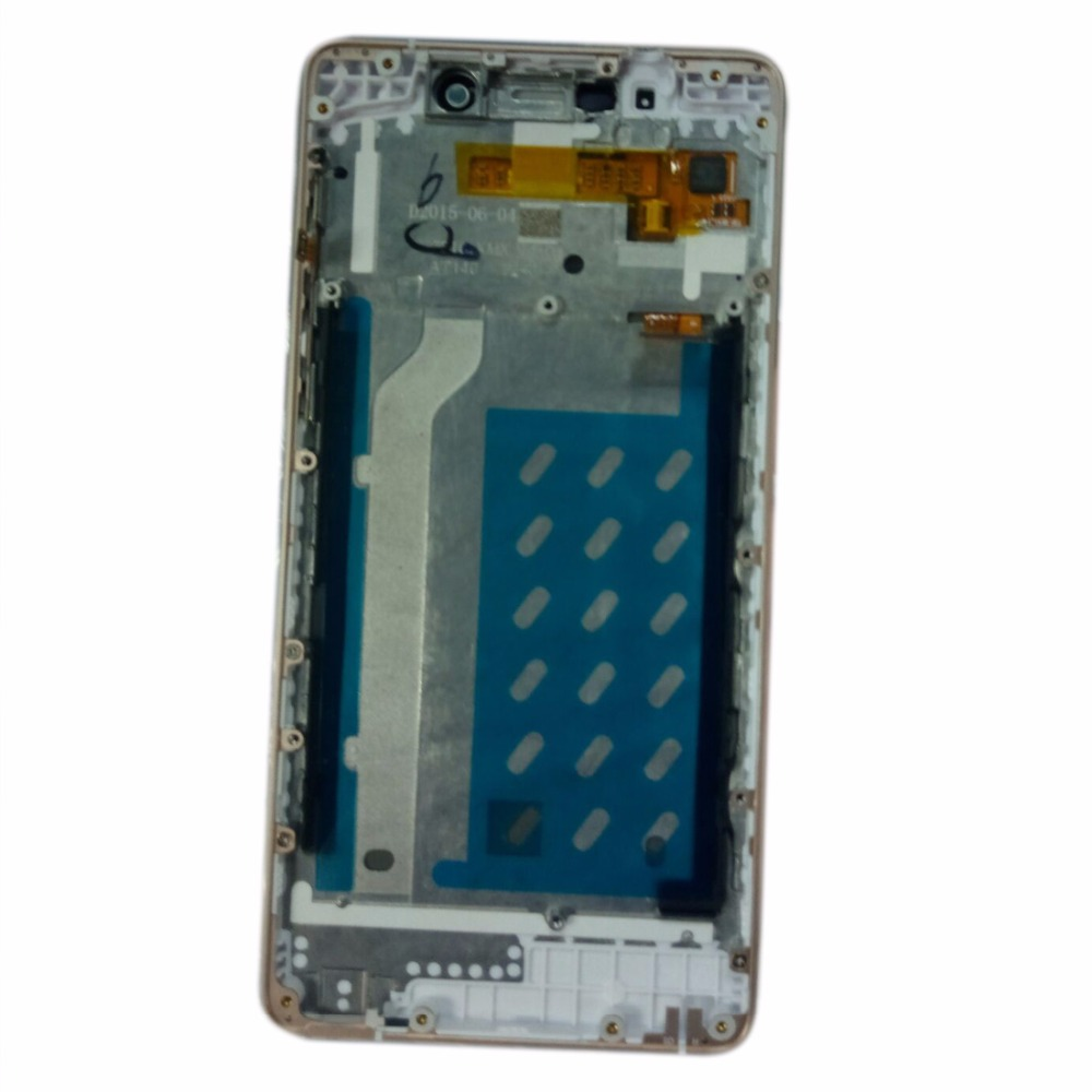 for Highscreen Power 5 Pro Screen Lcd Display Touch screen Sensor Full with Frame Frame Touch