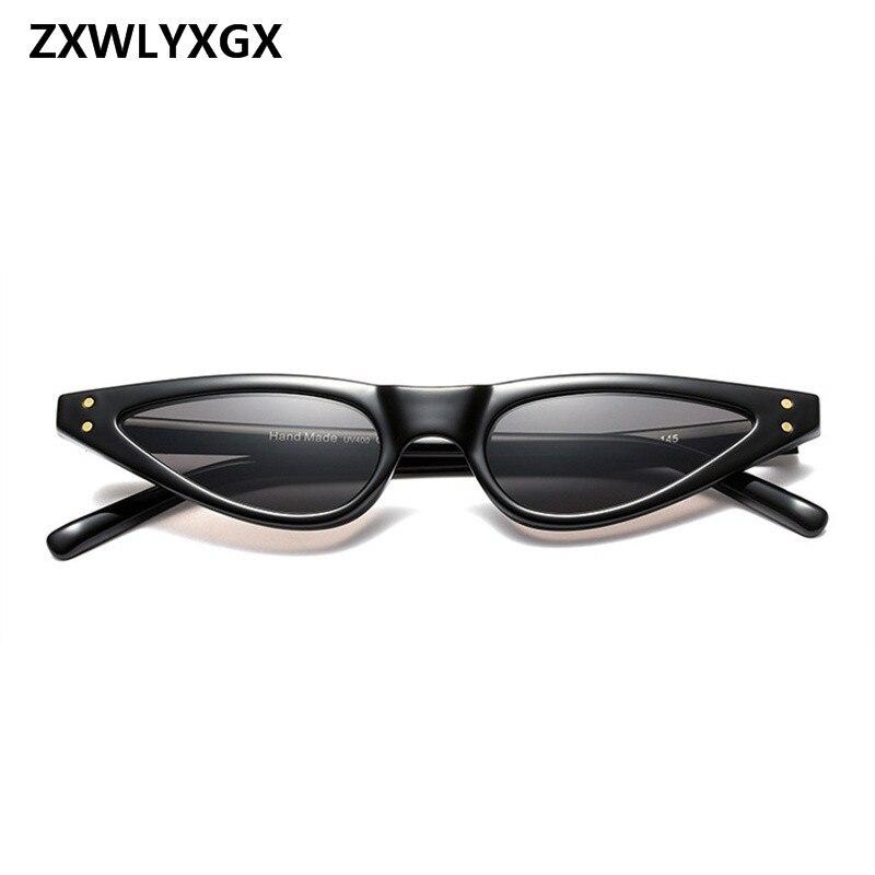 ZXWLYXGX 2018 Regalos Nuevos Cat Eye Sunglasses Mujeres Marca Small - Accesorios para la ropa - foto 3