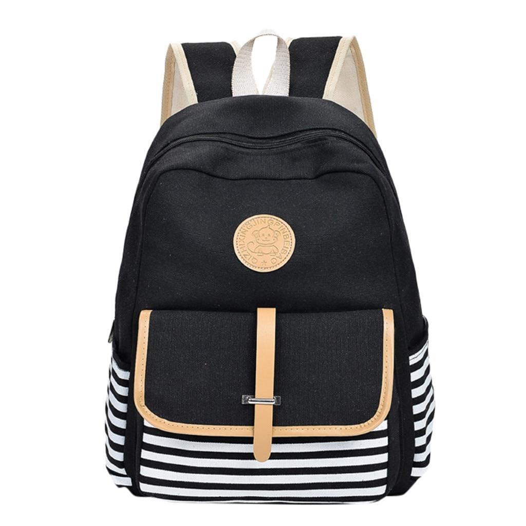 Fashion Student Bag Canvas BackBag College Wind Outdoor Travel Leisure Bag 20-35 Litre#ZSFashion Student Bag Canvas BackBag College Wind Outdoor Travel Leisure Bag 20-35 Litre#ZS