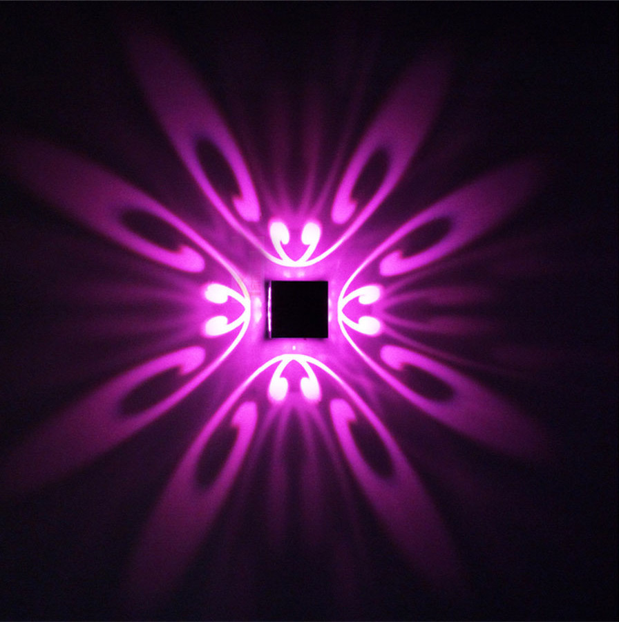 Wall Night Light Target : 3W Modern led wall light 85 265V Butterfly light high quality for restroom bathroom bedroom wall ...