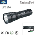 Free shipping UniqueFire LED Flashlight  UF-2170 XM-L T6 1000Lumen 10W For Powerful Rechargeable 1x 18650 Battery