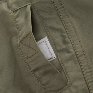 Image 4 - 프레드 마샬 2019 패션 밀리터리 셔츠 긴 소매 멀티 포켓 캐주얼 셔츠 브랜드 의류 육군 녹색 Camisa Masculina 117