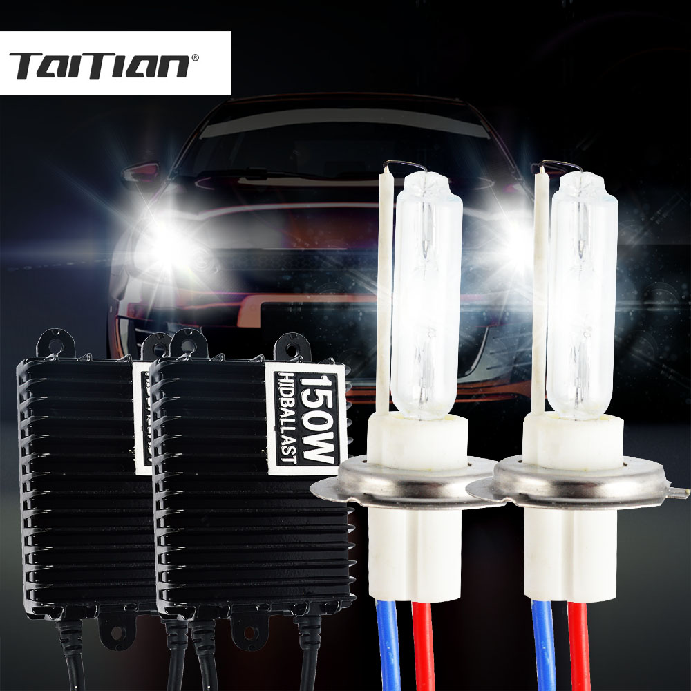 2pcs 150W H7 Bulbs HID Ballast Kit 12V H1 H3 H4 H8 H9 H11 9005/HB3 9006/HB4 Plug Car Light 4300K 6000K 8000K xenon light Set cnsunnylight ac 55w 24v xenon hid kit for truck light trailer h7 h11 h1 h3 h8 h9 h10 9005 9006 6000k 8000k hid xenon light page 9
