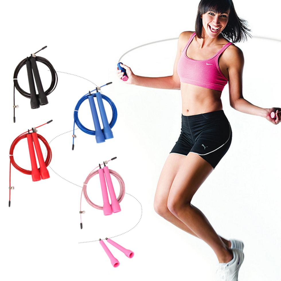 fitness skipping ropes speed jump rope jump TPU skipping rope handle gym training sports exercise for free shipping скакалка jump ropes 10 15 m15