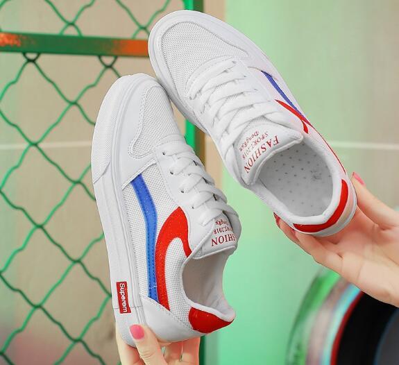Корейская версия ins super огонь обувь белые туфли шикарные туфли HCF1-HCF5