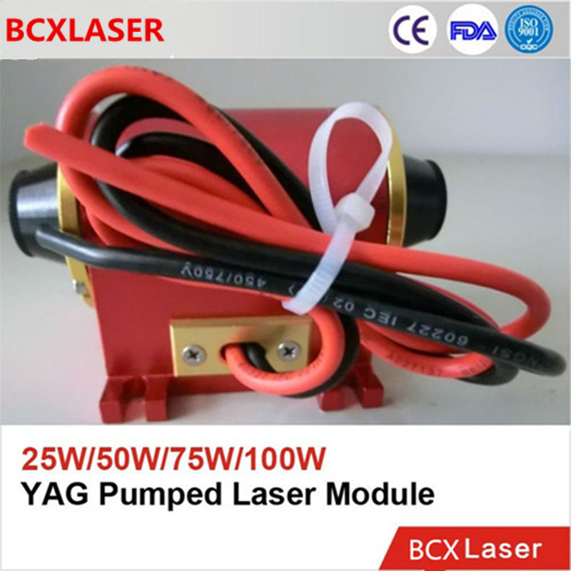High Precision ND YAG DPSS 850nm Diode Module for Laser Marking/Engraving/Cutting on Sale