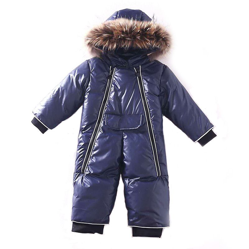 2018 winter romper baby boy clothes newborn cotton- padding rompers infant thick warm outerwear costume girls jumpsuit snowsuits цены