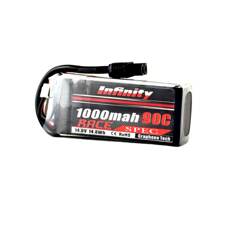 2018 New For Infinity 4S 14.8V 1000mAh 90C Graphene LiPo Battery SY60 Connector for RC Model Multicopter Power Spare Part Accs infinity kids 32134510002
