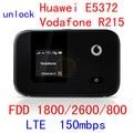 Разблокирована Huawei E5372 lte 150 Мбит Vodafone R215 4 г беспроводной маршрутизатор 4 г wi-fi Dongle 4 г мифи FDD 1800/2600/800 pk e5786 e3276 e5776