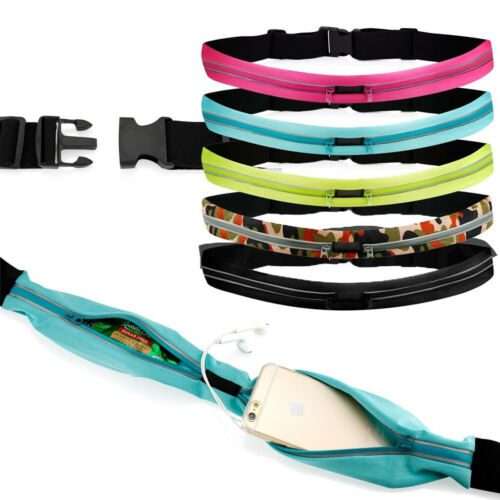 New Waist Bum Bag Fitness Running Jogging Cycling Belt Pouch Sports Fanny Pack