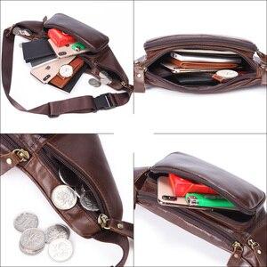 Image 5 - MISFITS di vita del cuoio genuino degli uomini borsa da viaggio pacchetto della vita hip sacchetto della cinghia del sacchetto del telefono del sacchetto del sacchetto casuale petto messenger bag maschile pacchetto di fanny