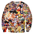 New Arrival Hot Dragon Ball Sweatshirt 3D Printed Anime Character Goku Pattern Streetwear Autumn And Winter Hoodies Fashion Tops