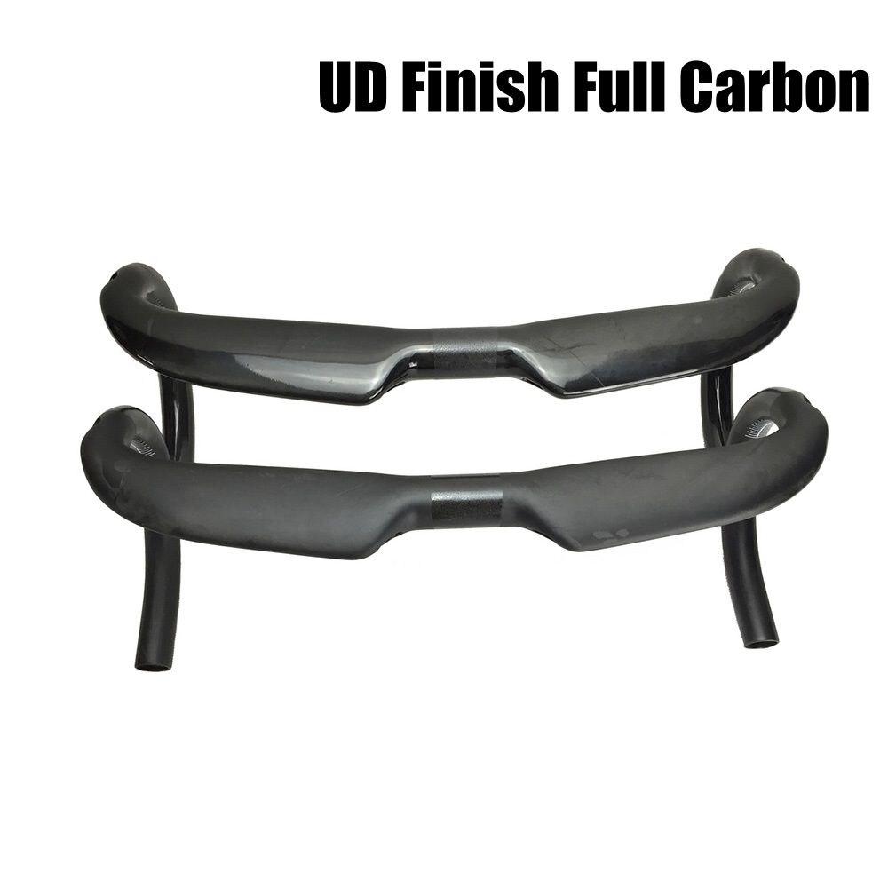 Guidon de vélo de route UD AERO T800 guidon de route en fibre de carbone à haut module pièces de cyclisme barre de courbure 31.8mm mat