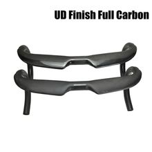 Manillar de fibra de carbono UD para bicicleta de carretera, pieza de barra curva mate de 31,8mm de alto módulo para bici, modelo AERO T800