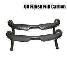 UD 도로 자전거 핸들 바 에어로 T800 높은 계수 탄소 섬유 도로 핸들 바 사이클링 부품 벤드 바 31.8mm 매트