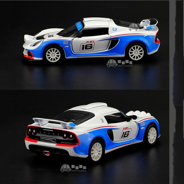 1/32 Lotus EXIGE R-GT Kinsmart Diecast Car Models Pull Back Openable Doors & 1/32 Lotus EXIGE R GT Kinsmart Diecast Car Models Pull Back Openable ...