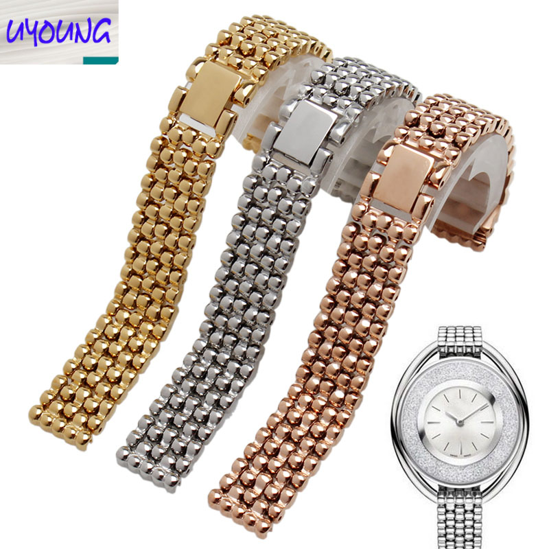 UYONG High quality stainless steel strap replacement s-w-a-r-o-v-s-k-l men and women watch accessories 12mm k r k naidu a v ramana and r veeraraghavaiah common vetch management in rice fallow blackgram