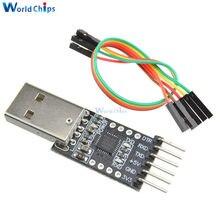 1 teile/los CP2102 USB 2.0 zu UART TTL 6PIN Stecker Modul-serienkonverter mit Dupont linie