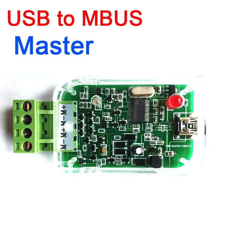 Industrial USB to MBUS Master Converter Communication debug Module 10 loads FOR MBUS Smart control / meter