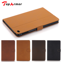 TopArmor Vintage Book Flip Leather TOP Quality Smart Case For ipad pro cover case for apple tablet 12.9 inch Magnetic Stand Bag