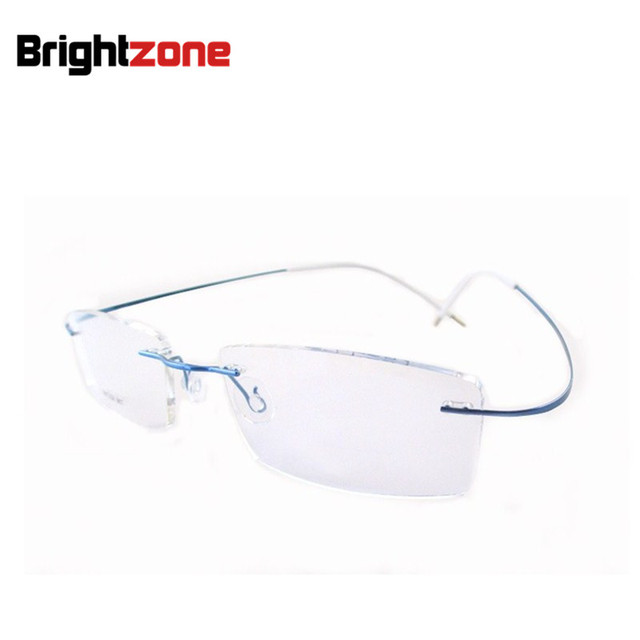 95a2e60963b Best Sell Light Weight Flexible Rimless Non-screw 6g Eyeglasses Glasses  Prescription Pure B-Titanium Optical Frame Spectacles