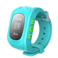 Smart Kid Safe Watch Wristwatch GSM GPS Finder Locator Tracker SIM SOS Anti Lost Smart Watch