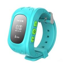 Q50 Смарт-часы детские безопасные наручные gsm GPS Finder Locator tracker sim SOS анти-потерянный Смарт часы детские часы Для IOS Android