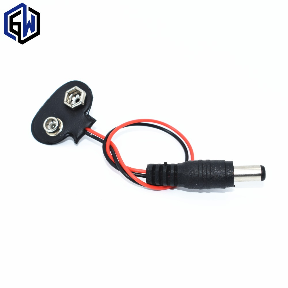1pcs UNO R3 9V Battery Connector 9V battery clip1pcs UNO R3 9V Battery Connector 9V battery clip