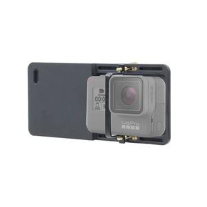Image 5 - Funsnap estabilizador de câmera para gopro hero, acessório adaptador de câmera de mão, de alumínio para gopro hero 6/5/4