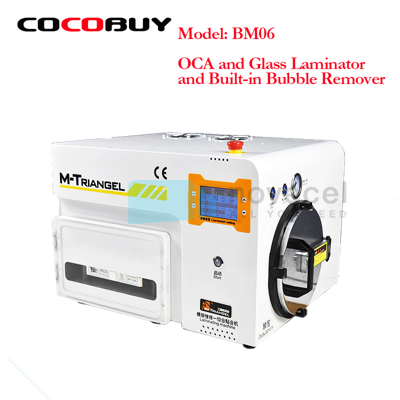 Novecel BM06 iPhone ремонта машины удаления пузырьков воздуха машина вакуумного ламинирования Ремонт ЖК отреставрировать Ламинатор ОСА Маха