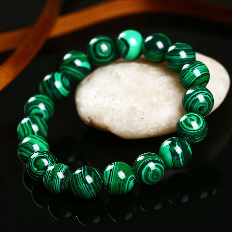 High Quality Fashion Green Malachite Crystal Bracelet