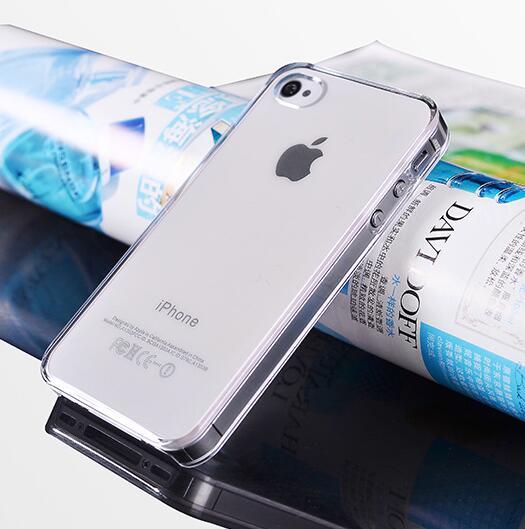 Hard Crystal Case for iPhone 7 8 Plus 6 6S 5S 5 SE 5C 4S Մաքուր - Բջջային հեռախոսի պարագաներ և պահեստամասեր - Լուսանկար 5