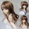 1/4 BJD DD MDD doll wigs curly MoE girls cream scroll
