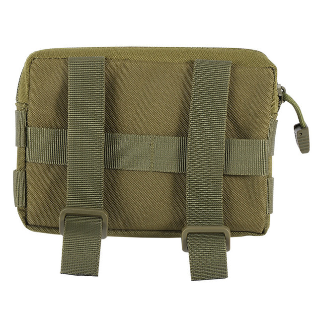 600D Outdoor Hiking Utility EDC/Accessory Drop Nylon Waterproof Magazine Pouch For Mini Outdoor Pouch