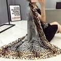 Мода классический бренд хлопок шарф женщин сексуальный leopard Платок Европейский стиль écharpe cachecol платки мягкий Пашмины пончо мыс