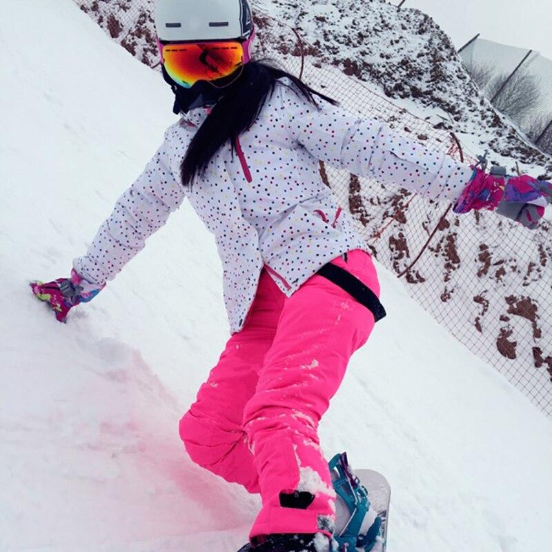 Combinaison de Ski d'hiver femmes coupe-vent imperméable à l'eau Sports de plein air veste de Ski et pantalon ensembles de costume sport jacke pantalon Snowboard costumes