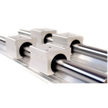SBR12 12mm linear rail length 300mm 400mm 500mm 600mm 700mm 800mm linear guide with SBR12UU linear block cnc part(China)