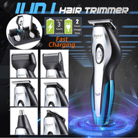 Kemei KM 5031 11In1 Professional Electric Hair Clipper trimmer Haircut Shaver Beard Razor Styling Tools Rechargeable Machine Cut