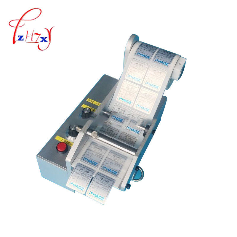 Automatic Label Dispenser AL-080D Label Stripping Machine Stripper automatic label stripping 220V/110V ftr 118c automatic label dispenser with counter 1 sensor 6 digit led label 3 100mm wide 4 150mm long