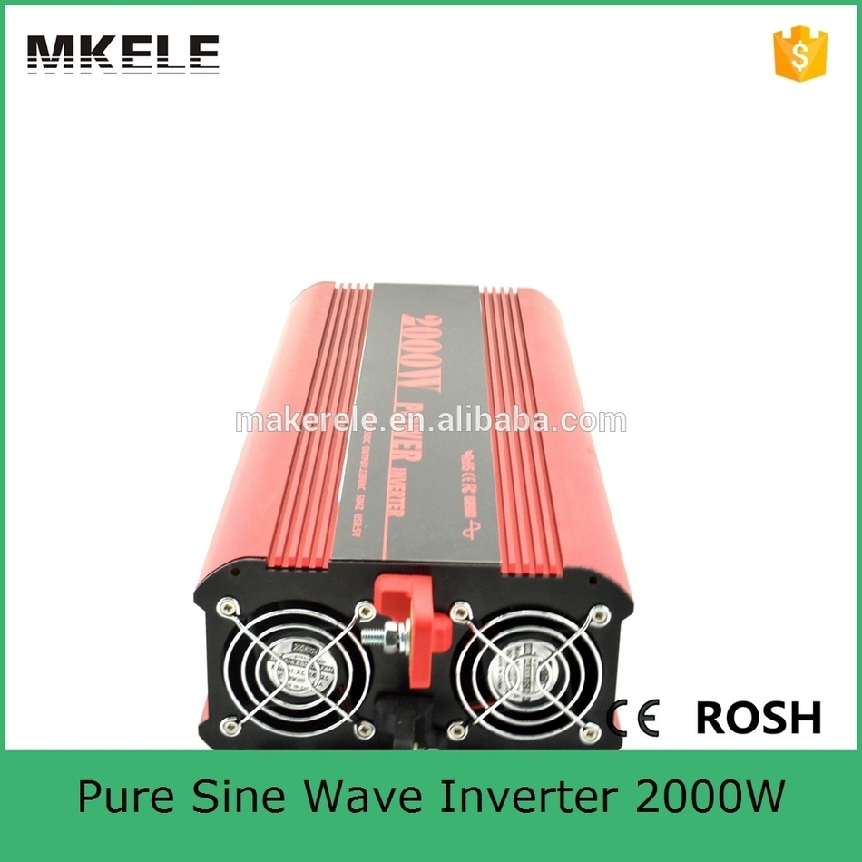 цена на MKP2000-121R off grid pure sine wave dc to ac power inverter dc 12v ac 120v 2000w power inverter made in China